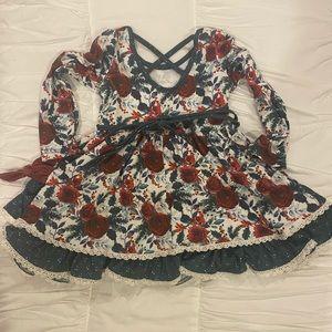 cheeky plum 2t winter dress